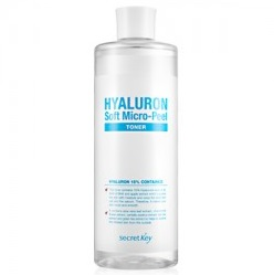 Гиалуроновый тонер<br /> SECRET KEY Hyaluron Soft Micro Peel Toner