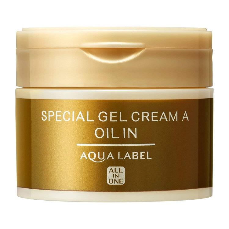 Гель-крем антивозрастной увлажняющий<br /> SHISEIDO Aqua Label Special Gel Cream Oil In