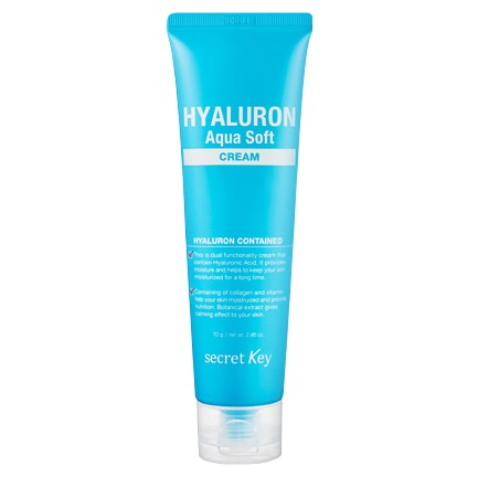 Гиалуроновый крем <br /> SECRET KEY Hyaluron Aqua Soft Cream