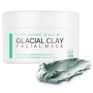 Маска очищающая и сужающая поры<br /> SKIN&LAB Dr.Pore Tightening Glacial Clay Facial Mask