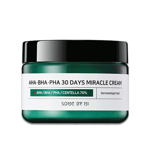 Крем с кислотами<br /> SOME BY MI AHA-BHA-PHA 30 Days Miracle Cream
