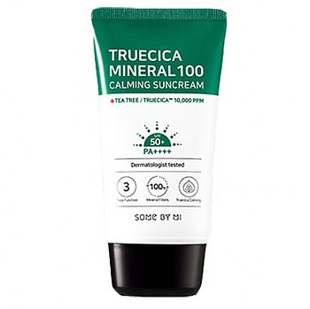 SOME BY MI True Cica Mineral 100 Calming Sun Cream <br />SPF50+ PA++++