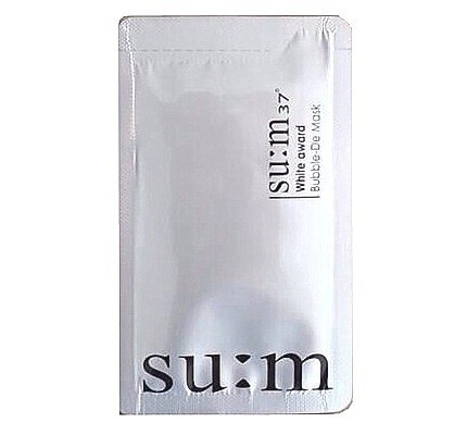 Пробник<br /> SU:M37° White Award Bubble De Mask