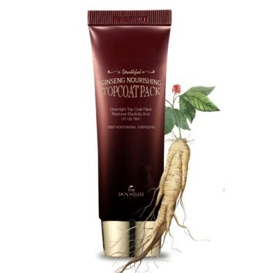 Маска ночная с женьшенем<br /> THE SKIN HOUSE Ginseng Nourishing Topcoat Pack
