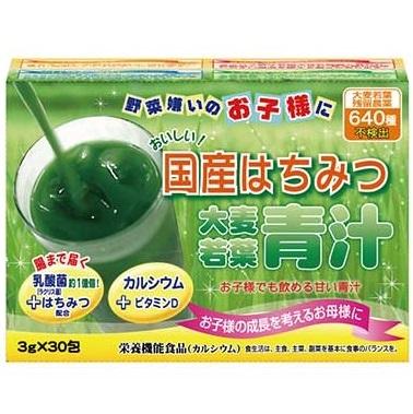 Аодзиру из ячменя с медом и лактобактериями <br /> YUWA Honey Barley Young Leaves Green Juice Aojiru