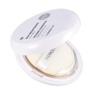 Пудра солнцезащитная компактная<br /> THE FACE SHOP Skin Brightening UV Pact SPF50+ PA+++