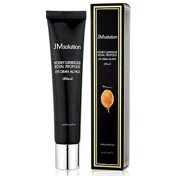 Крем для лица и глаз с прополисом<br /> JMSOLUTION Honey Luminous Royal Propolis Eye Cream All Face Black